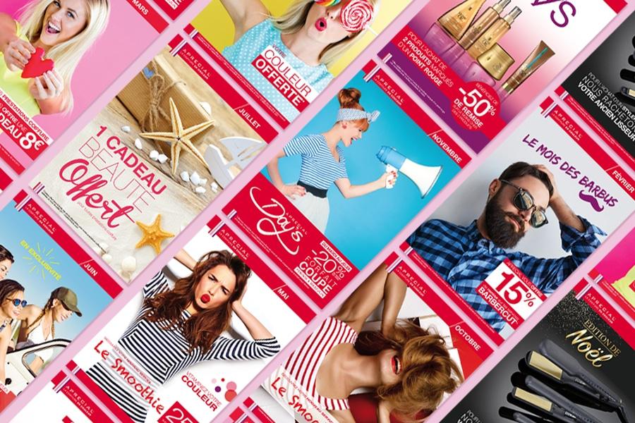 Franchise coiffure : outils Marketing & Communication adaptés à la coiffure